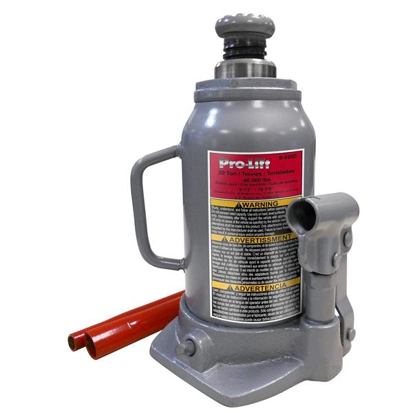 Click Image to Enlarge Pro-Lift B-020D 20 Ton Bottle Jack
